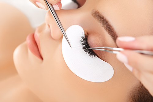 eyelash extension workshop