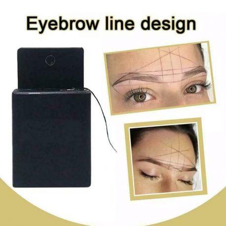 Eyebrow line design