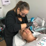 entrenamiento de bb glow en beauty ink miami by liliana gonzalez