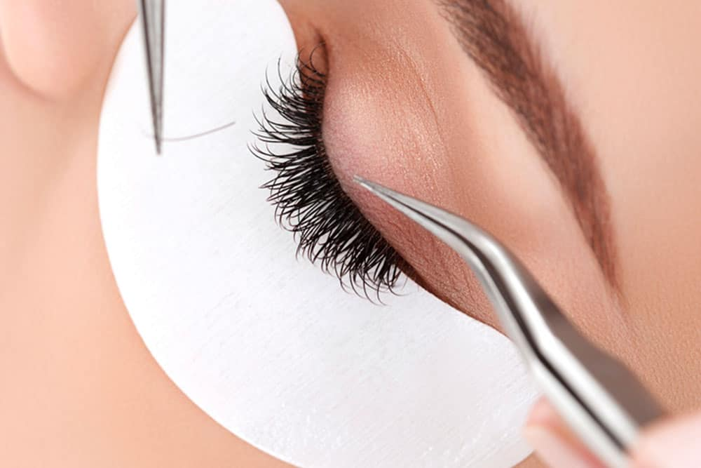 Eyelash extensions training by beauty ink miami